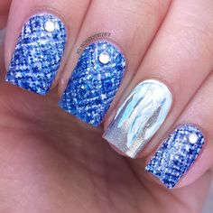 12 Days of Christmas: Ice Blue & White Colors | Manicured & Marvelous