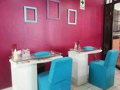 Resultado de imagen para como decorar un salon de manicure y