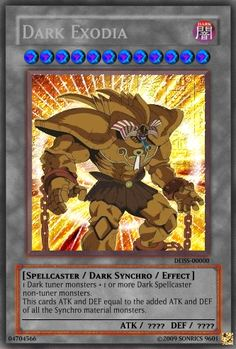 new dark synchro - Realistic Cards - Single Cards - Yugioh Card Maker ...