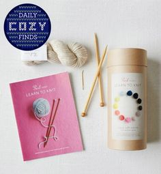 Great Gift Idea: Knitting Kit for Beginners