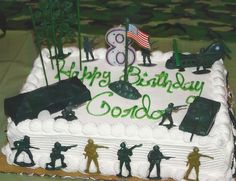 Soldier Cake.