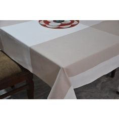 Broad Check woven cotton table cover #tablecovers #tablecoversonline