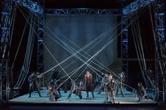 The Flying Dutchman. The Glimmerglass Festival. Scenic design by James Noone. 2013