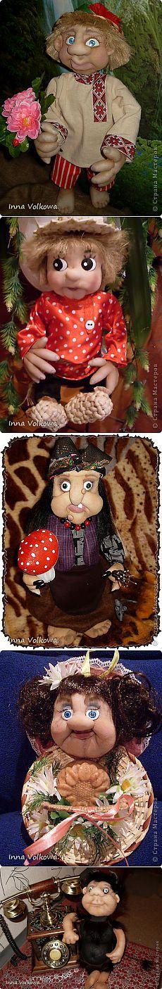 Скульптурно-текстильная кукла ( чулочной техники.) | Страна Мастеров