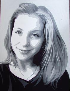 by Yana Nikandrova, acrylic painting