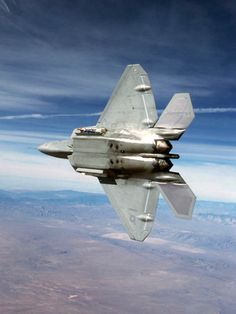 supersonic-youth:  F-22 Raptor