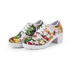 Chaussures Femme Toile Gros Talon A Plateau Chaussures de Sport… Chaussure  Talon Femme, Chaussures df1a94003e15