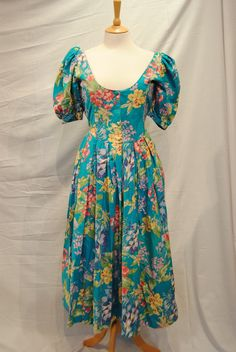 vintage laura ashley - I have different dress style in this fabric circa 1987 bought in London
