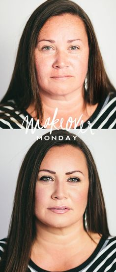 "Makeover Monday by Maskcara // Lashes are ""Little Black Lash"" by Only thing I would add is thicker more natural looking brows Old Makeup, Hair Makeup, Girl Makeover, Makeup Makeover, Beauty Make Up, Hair Beauty, Skin Color Chart, Maskcara Beauty, Maskcara Makeup"