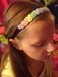 Beaded Headband by BeadinByCourt on Etsy