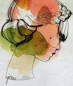 Magnifiques aquarelles Je suis en admiration devant le travail d'Ekaterina Koroleva, graphiste et illustratrice basée à Berlin. Elle aime l'illustration de