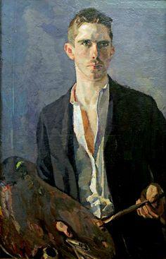 Albert Weisgerber, Self-Portrait, 1908.