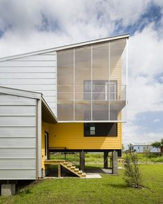 House by Bild Designs constructed as part of Brad Pitt's Make It Right Foundation for New Orleans