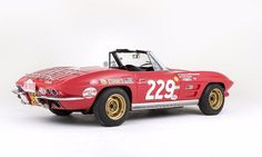 1964 C2 Road Rally Roadster Heads to Auction in The UK - Corvette Online