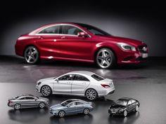 Mercedes-Benz Accessories: CLA-Klasse Modellauto von Norev in designo magno polarsilber im Maßstab 1:18. Artikelummer:  B66960130 , Preis 69,90 Euro. CLA-Klasse Modellauto von Schuco in mountaingrau, universumblau und kosmosschwarz im Maßstab 1:43. Artikelnummer:  B66960128, B66960129 und B66960127, Preis 29,90 Euro (Preise inkl. MwSt., gültig für Deutschland).