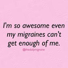 Love it! Hate my migraines.