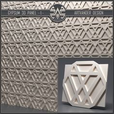 Material Library, 3d Panels, Gypsum, 3d Wall, Wall Tiles, 3 D, Concrete, Design, Ideas