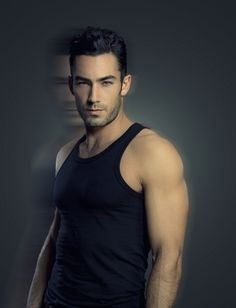 aron Diaz came to me...  He's a Mexican actor, singer and entrepreneur, he has the most exquisite body and the eyes of an angel,   when he open his mouth and say a word, his voice melts you and lulls you like you're in a heavenly river.  Why Aaron Diaz?... I mean, why not?... Aaron is a delicious proof that Heaven is on Earth.