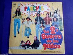 LOS PARCHIS A DISNEY LANDIA MEGA RARE ARGENTINE LP !!! - 1982 TINO YOLANDA GEMMA