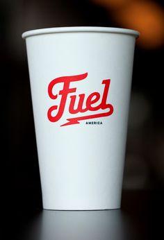 Fuel Coffee Branding.
