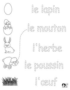 french worksheets for kids spring printout french french activities for children wwwchillola - Print Out Activities