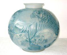 Renee Lalique Glass Vase