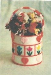 Lazy daisy Flower Basket ~ free pattern