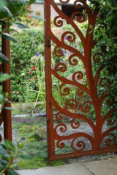 secret garden doors | Flickr - Photo Sharing!