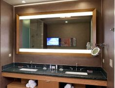 1000+ images about Amazing Lighted Mirrors on Pinterest Lighted mirror, Electric and LED