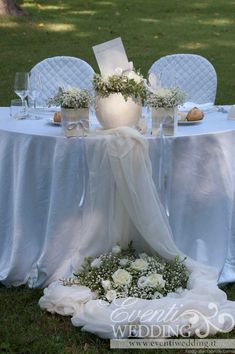Our delicately decorated tables. Church Wedding, Garden Wedding, Diy Wedding, Rustic Wedding, Wedding Ceremony, Dream Wedding, Wedding Reception Decorations, Wedding Centerpieces, Wedding Bouquets