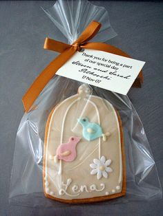 Cookie Wedding Favour