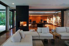 diseño de sala de estar y salón moderno