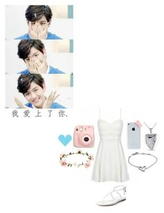 """Short Scenario (Baekhyun x Julia) {Read the description}"" by cmarnoldrr ❤ liked on Polyvore featuring art"