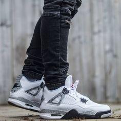 "Air Jordan 4 Retro ""White Cement"""