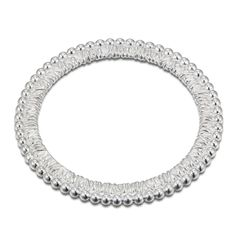 """Basket & Weaves Beaded Edge 8"""" Gathered Bangle from Arthur Court in Gainesvile, FL from Kitchen & Spice"""