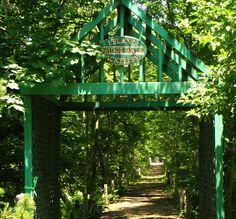 Leland bridge walkway