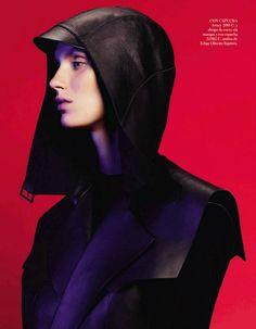 Marte Mei Van Haaster for Vogue Spain September 2103 by Paola Kudacki