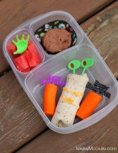 Keeley McGuire: Lunch Made Easy: Happy Halloween!