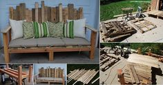 Outdoor Pallet Furniture DIY ideas and tutorials19