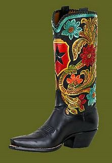 I've wanted boots like this for years: The Tularosa Pintado by Rocketbuster