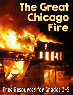 Free upper elementary resources for Fire Prevention Week! Teaching kids about the great Chicago fire is a super way to integrate fire safety and prevention lessons into the social studies curriculum! Social Studies Curriculum, Common Core Curriculum, Social Studies Classroom, Social Studies Activities, History Activities, Teaching Social Studies, Teaching Tips, Fire Prevention Week, Upper Elementary Resources