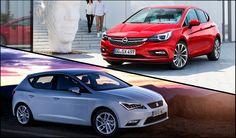 ¿Cuál es mejor, Opel Astra 2016 o Seat León? Los dos coches compactos más de moda puestos cara a cara