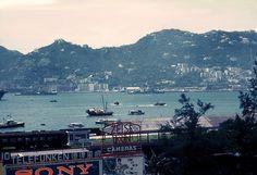 1961 Wanchai view from TST