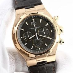 FS: Brand New Vacheron Constantin Overseas Chronograph in 18K Rose Gold by watchescorner