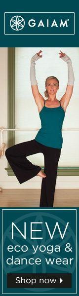 Shop Gaiams New Eco Yoga and Dance Wear