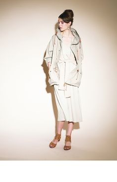 kha:ki C/N Light Field Coat / mil-jk10d  26,250yen 2way Layred One-piece / mil-cs21  14,700yen