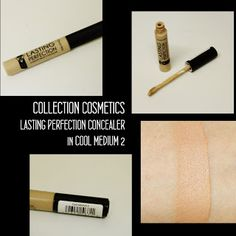 MichelaIsMyName: COLLECTION COSMETICS Lasting Perfection Concealer ... Lasting Perfection Concealer, Cosmetics, Cool Stuff, Medium, Collection, Medium Long Hairstyles