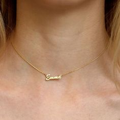 Tiny Gold Choker Necklace-Gold Necklace-Personalized Choker Necklace- Choker Necklace-Bridesmaid Gift-Name Plate Choker - Custom Jewelry