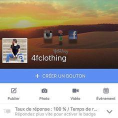 #follow #facebook #brand #marque #4fclothing