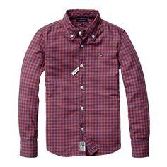 Tommy Hilfiger Boys overhemd | kleertjes.com